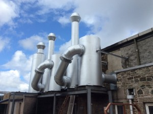 Exhaust Gas Silencers Scotland