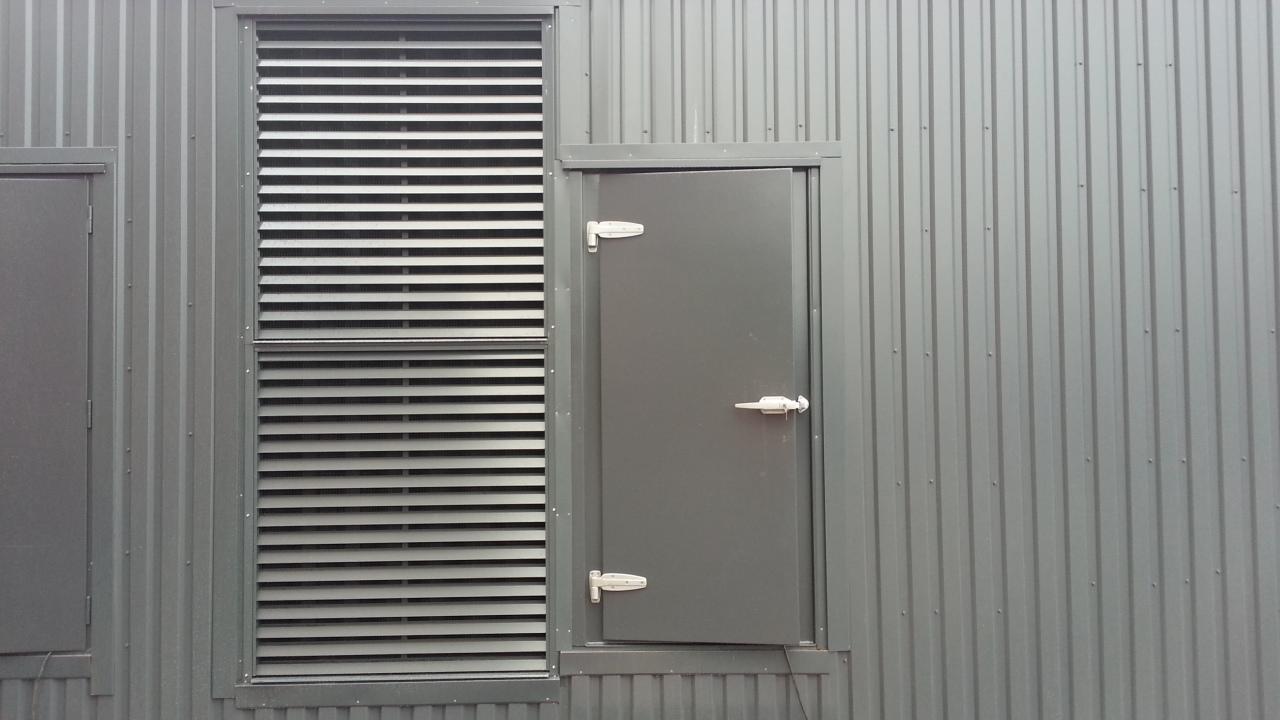 Acoustic Doors Industrial Marine Silencers
