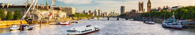 London Eye River Thames Emissions Reductions